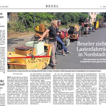 """Beueler zieht mit Lastenfahrrädern in Nordstadt um"""