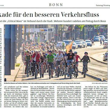 """Blockade für den besseren Verkehrsfluss"""