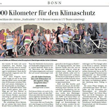 """""""600 000 Kilometer für den Klimaschutz"""""""