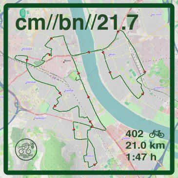 //das war die critical mass Bonn 21.7