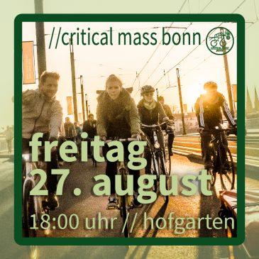 //critical mass bonn – 27. august 2021