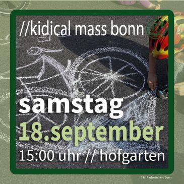 //kidical mass bonn – 18. september 2021